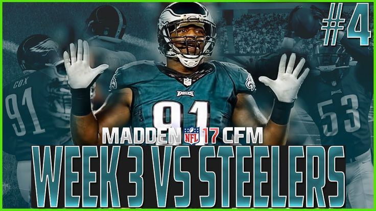 Madden NFL 17 Franchise | Eagles vs Steelers | Scouting Your Opponents -...