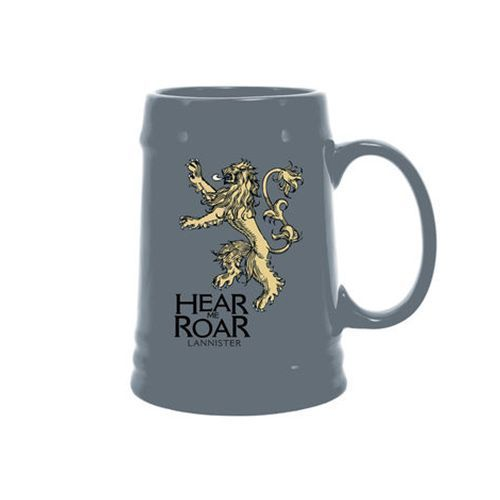 From Dark Horse Comics. Dark Horse Deluxe continues to ramp up for this spring's third season of the award-winning HBO adaptation of Game of Thrones.  Come refresh yourself with a long drink from custom glasswareemblazoned with the house sigils of Lannister and Baratheon. Your thirst will be quenched. Permanently!