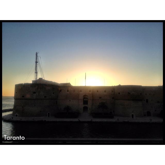 Il castello di Taranto