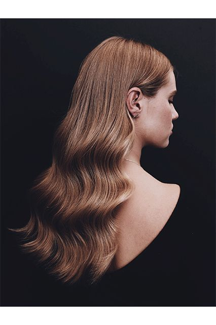 """Lucy Hale's Hairstylist Is Determined To Give You A Good Hair Day Every Day #refinery29  http://www.refinery29.com/2017/01/135529/kristin-ess-hair-collection-styling-photos#slide-7  Old Hollywood S-Waves""""It can be hard to get a soft wave pattern or an updo to stay put all night,"""" Ess says. """"The hairspray I created is dry, so you can easily brush through it. Plus, it helps the styles I create on my clients stay in place."""" Even better: It's buildable and won't feel tacky — so app..."""