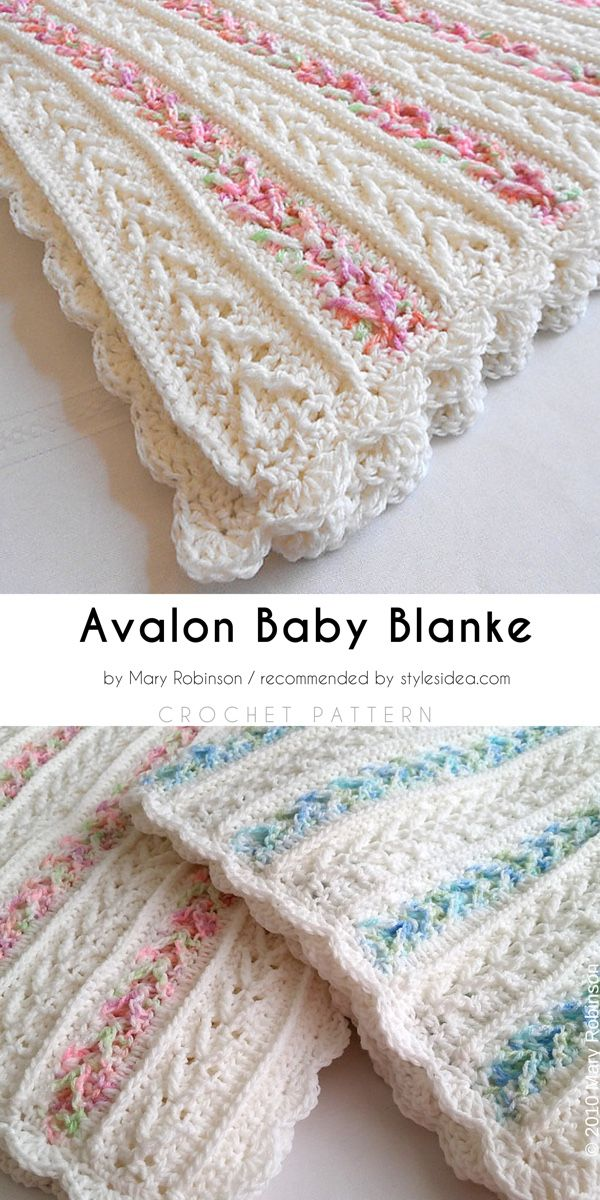 Arrow Stitch Afghans Free Crochet Pattern