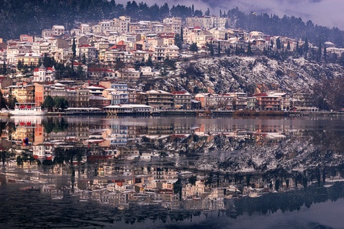Kastoria, Greece. Where my Mom was born and Raised.