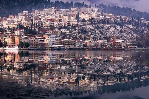 Kastoria, Greece. Where my Mom was born and Raised.