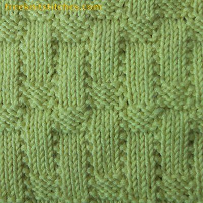 Knit Knit Purl Purl Pattern : 117 best images about Knit and purl stitch patterns on Pinterest Ribs, Knit...