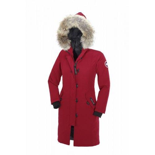 canada goose kensington parka dames jas zwart