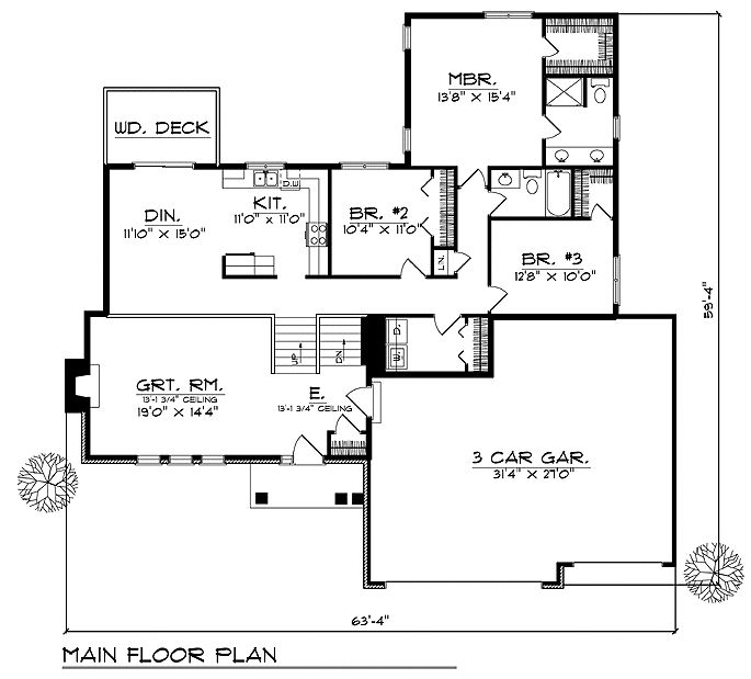 1000 images about floorplans with bedrooms grouped together on pinterest house floor plans. Black Bedroom Furniture Sets. Home Design Ideas