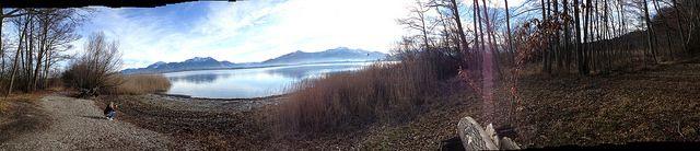#Panorama #Herreninsel Südseite im #Chiemsee mit #Alpenpanorama - #Fotos geschossen auf #Herrenchiemsee - als Panoramaaufnahmen. Eine #Wanderung um die gesamte #Insel , ca. 13 Kilometer mit einsamen #Buchten und einzigartigen Eindrücken der #Natur mit wunderschönen #Ausblicken auf die #Berge - #Bergpanorama - #bavaria #bayern #lake #natur #nature #landscape #travel #chiemgau #island
