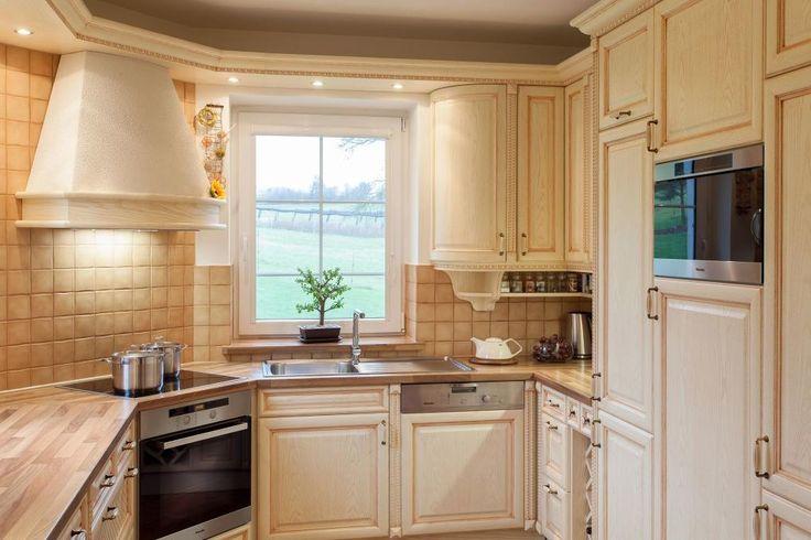 Realizacestylové rustikální kuchyně s nádechem venkova