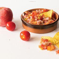 Surprising Tomato Salsa HealthyAperture.com