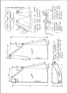Flared платье Американская пройма и шеи в спину - DIY - формовочного, кройки и шитья - Марлен Мукая