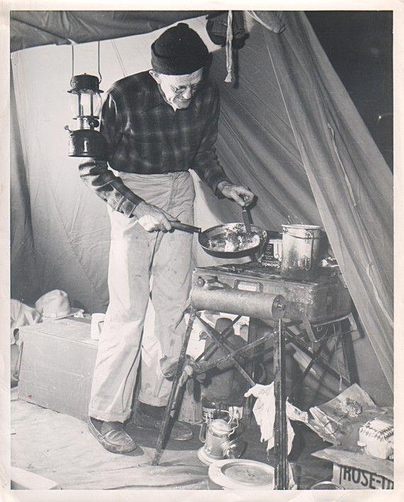 Vintage Camp Photo