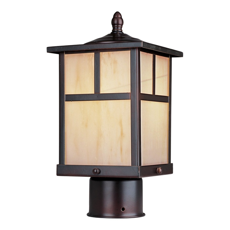 Maxim Lighting 4055HOBU Craftsman Post Mount Light