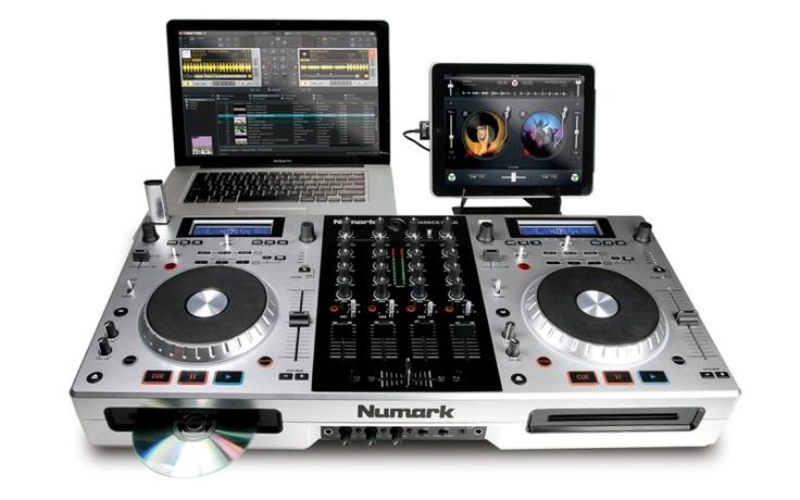 Numark MixDeck Quad Multiformat DJ Controller and Mixer - DJ Mix Club