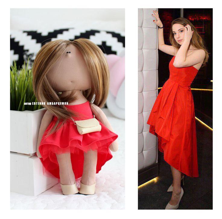 Портретная куколка Portrait doll. eva-dolls.com