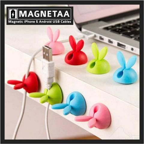 The 9 best Rabbit Shaped Cable Wire Organizer | Magnetaa images on ...