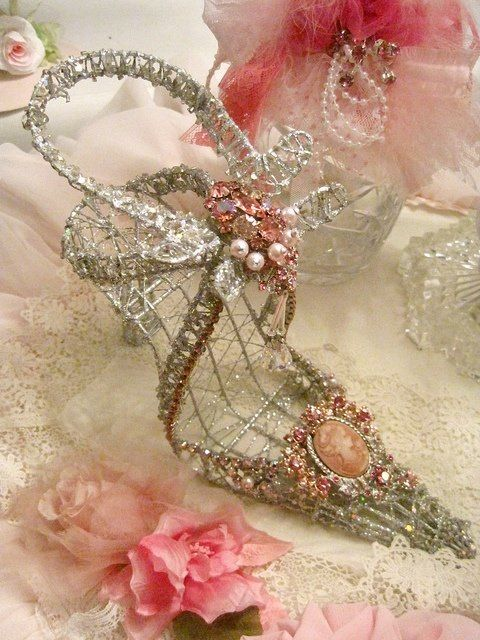 Shoe Fairy Blinged Out Heels