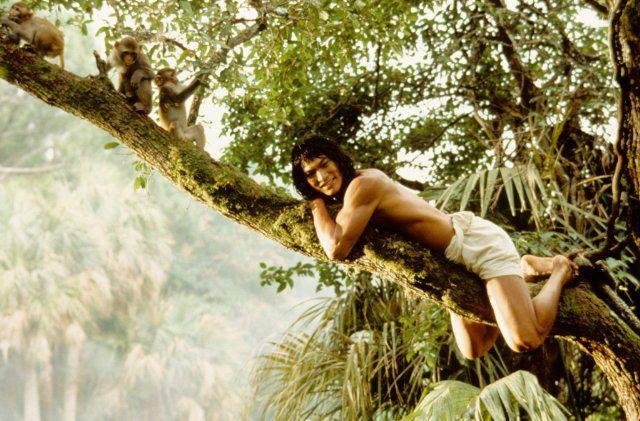 Still of Jason Scott Lee in The Jungle Book.  He's so pretty.