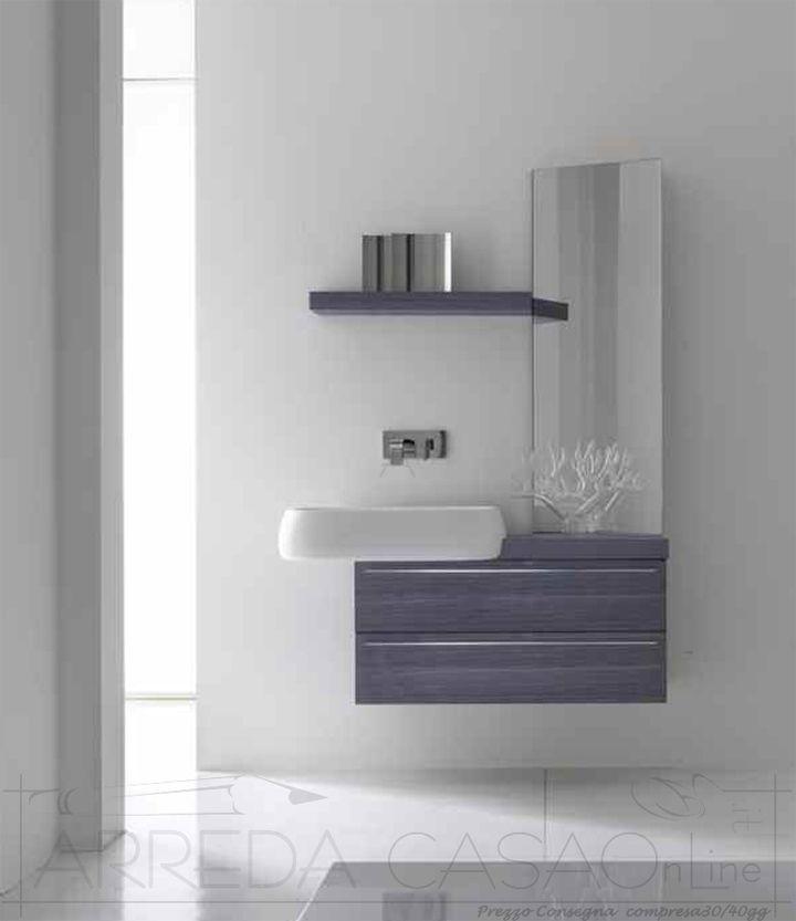 230 best arredo mobili bagno - bathrooms design images on ... - Arredo Bagno Lavabo