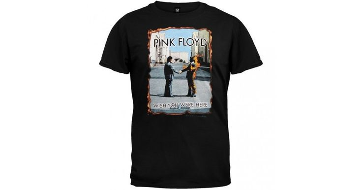 This official Pink Floyd Wish You Were Here t-shirt has the two men shaking hands graphic on the front with burning edges!The back is blank.Authentic Pink Floyd merchandise from Rocker Merch!Please allow 7-9 business daysto process order.100% Cotton Standard Fit ~ 18/1
