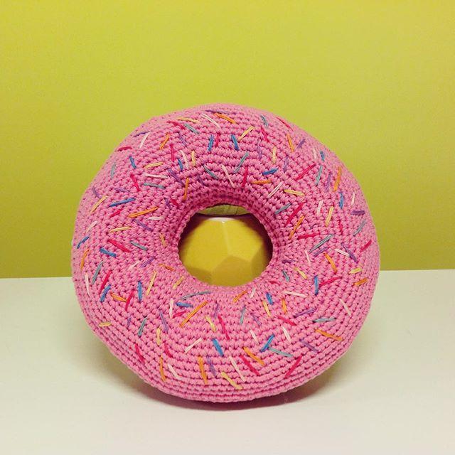 Flamingpot Crochet Donut Cushion Instagram Crochet