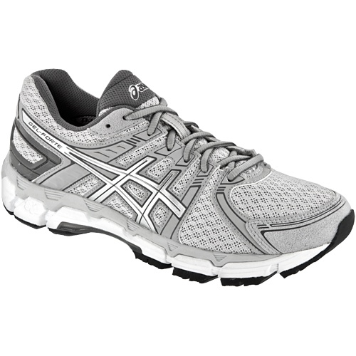 Asics Gel-forte: Asics Women's Running Shoes Gray/white