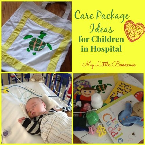 Care Package Ideas for Children in Hospital (My Little Bookcase)