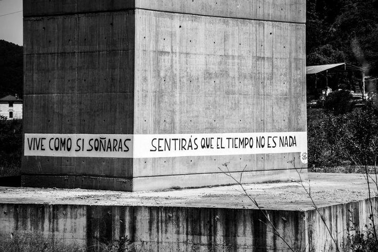 Acción Poética Asturias. Versos de un poema de Lenina Libre.