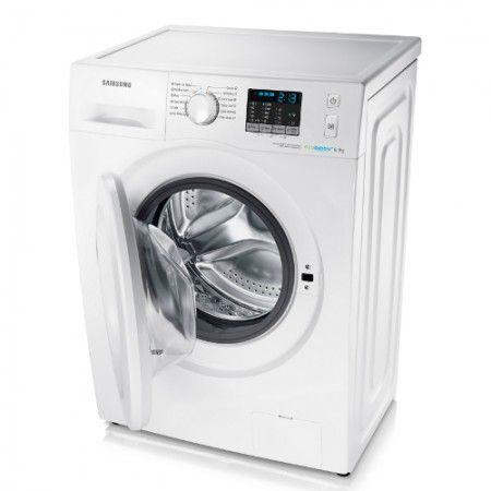 Masina de spalat rufe Samsung Slim WF60F4E0N0W/Le #samsung #biasicom #electorcasnice