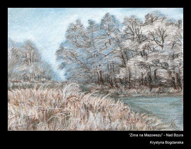 format A4, pastele (2013 rok) Rysunki mojego autorstwa - pejzaże, natura, krajobraz... - Krystyna Bogdańska - Picasa Web Albums