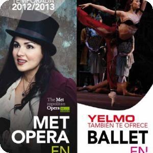 Ópera y Ballet en los cines Yelmo Vialia Albacete