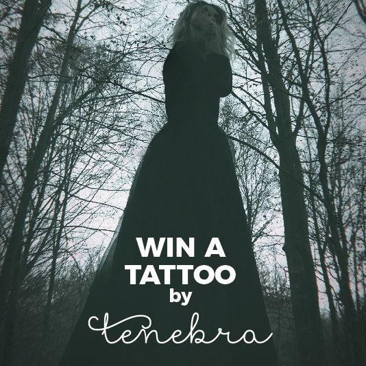 GANA UN TATUAJE DE TENEBRA Aprovecho para agradeceros a todos el apoyo haciendo un sorteo de un tattoo de máximo 3 h. El premiado puede hacerselo en el estudio Tenebra Tattoo en el periodo máximo de 1 año.  Para participar: 1.Sigue mi cuenta de instagram @Tenebra_Tattoo 2.Comenta esta foto mencionando 3 amigos que les pueda interesar Lunes 4 de diciembre daremos a conocer el ganador Mucha suerte!! WIN A TATTOO BY TENEBRA I take this opportunity to thank all of you for the support by making a…