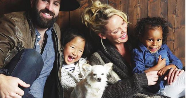 Mum-Of-Two Katherine Heigl Pregnant For The First Time