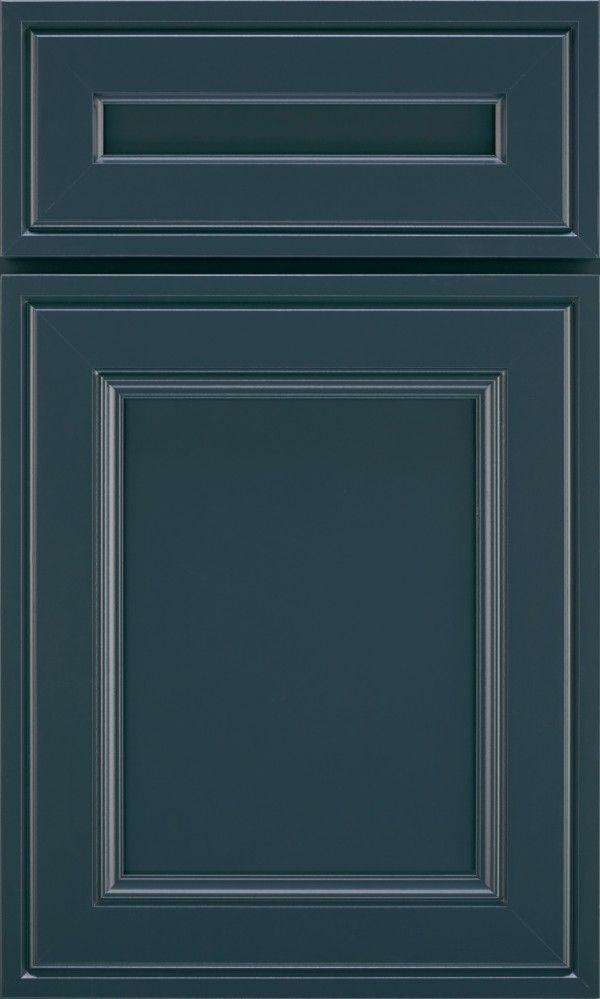 Diamond cabinetry at Lowes - Maritime Blue is more of a smokey peacock