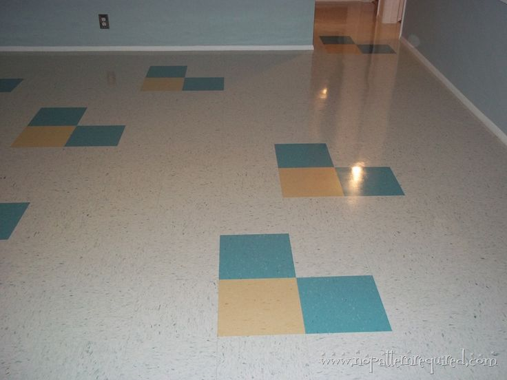 mcm ideas and vct flooring - Vct Pattern Ideas