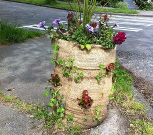 17 Best 1000 images about Burlap Bag Garden on Pinterest Gardens