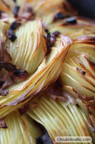 Pommes de terre au four croustillantes - Ciloubidouille