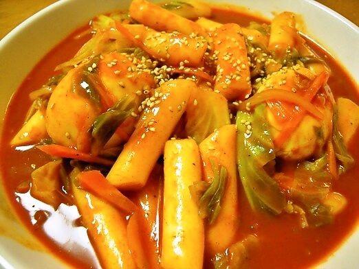 韓国屋台料理の定番 韓国の屋台よりもおいしいトッポキの作り方(トッポキのレシピ) | 韓国料理店に負けない韓国家庭料理レシピ「眞味」