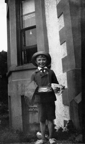 Christopher Isherwood at Penmaenmawr on the north coast of Wales, 1912