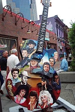 Nashville's Painted Guitars