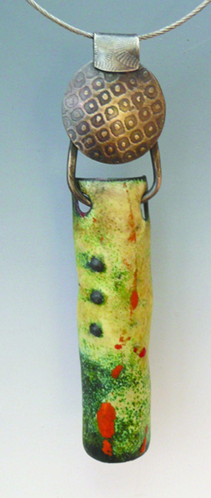 Enamel Pipe 2 by Patti Wells