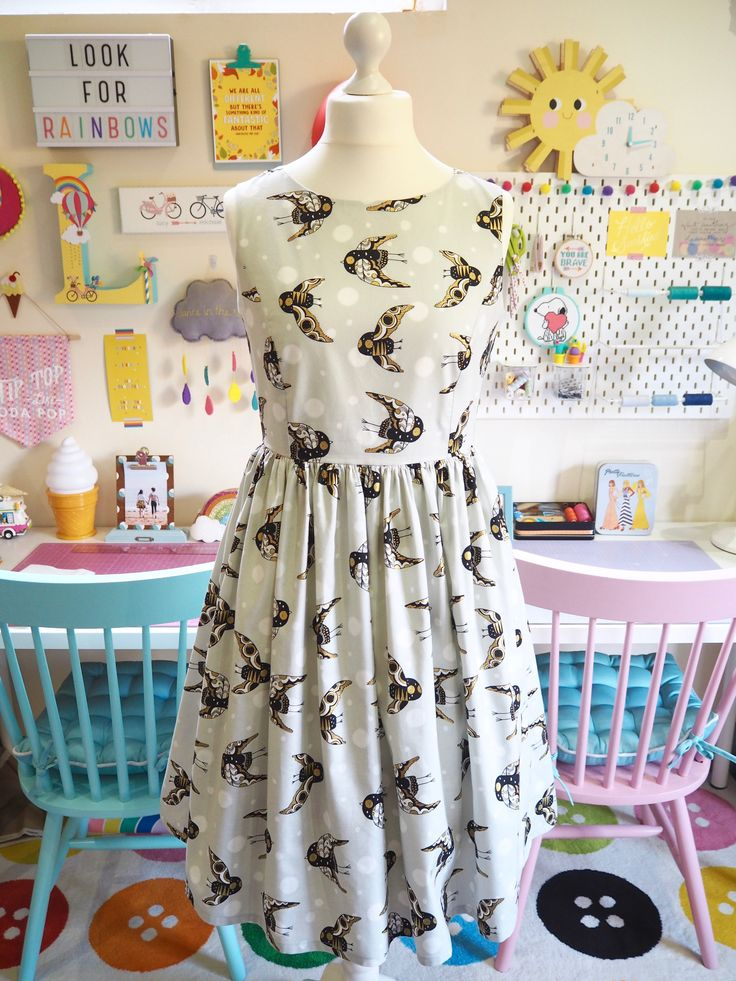 Smile & Make - COMING SOON: Made To Order - Owls Picnic Dress