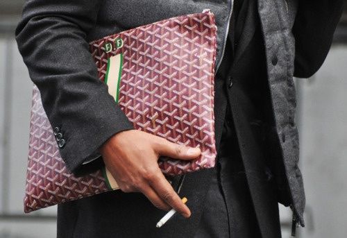 I want a clutch, I'm thinking Goyard Men's Clutch