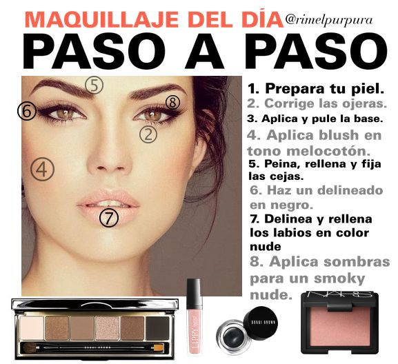 Usar Maquillaje No Mata Tus Neuronas.: Paso a Paso: Maquillaje para ir a la oficina.