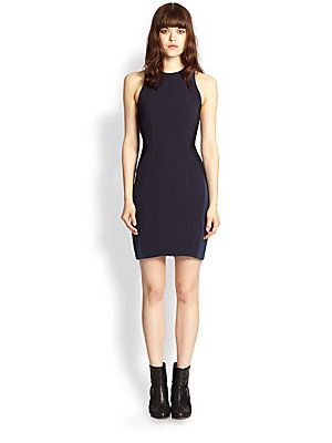 Rag & Bone Clemence Colorblock Body-Con Dress