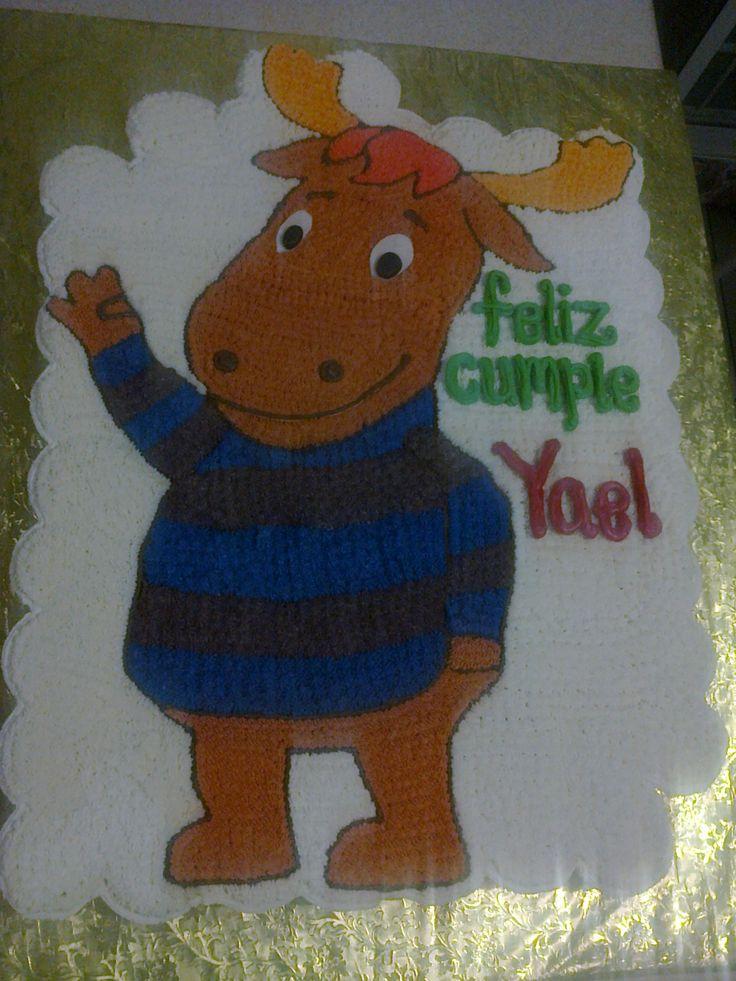 pastel de cupcakes cumpleaños