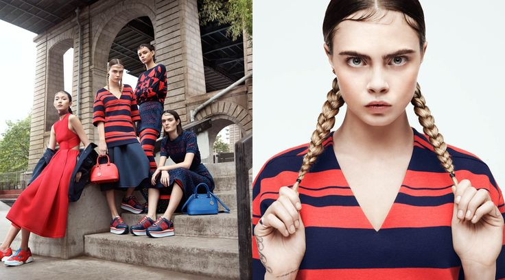 Cara Delevigne per DKNY. Campagna pubblicità. @harimnetwork