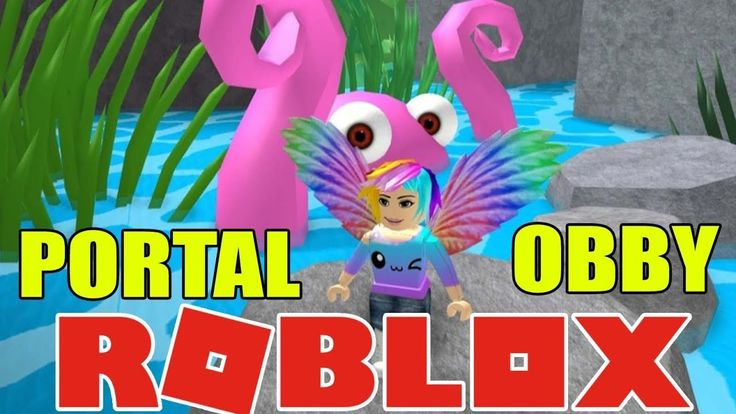 CRAZY FUN PORTAL OBBY Challenge in Roblox -- Let's Play Roblox and Have ...