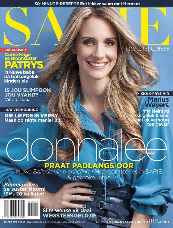 Ons voorbladgesig vir Maart 2015 is Donnalee Roberts! \ cover