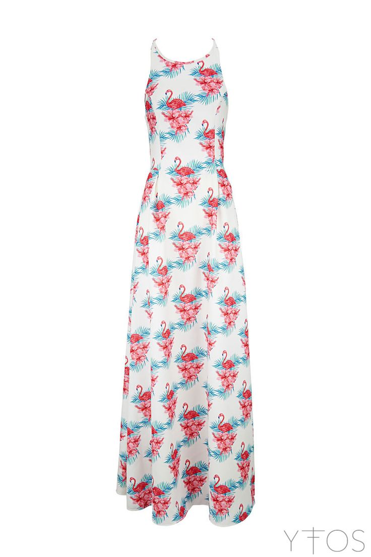 Karavan : June Flamingo Maxi Dress