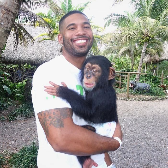The real Tarzan Mike Holston portraits with animals